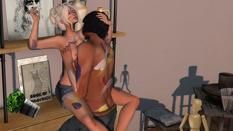 second life robot sex